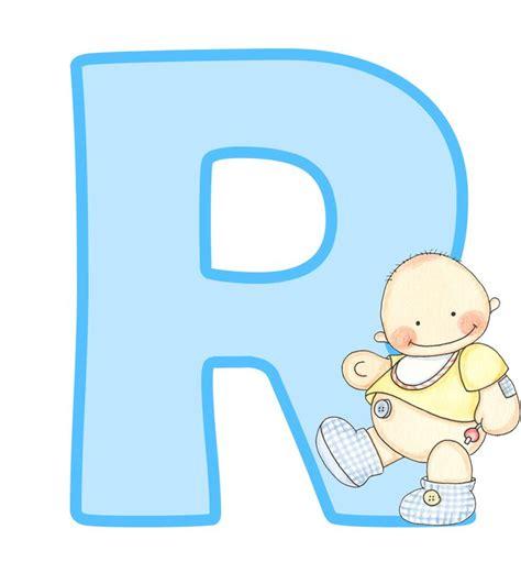letras de baby shower para imprimir letras may 250 sculas para imprimir de beb 233 letra r letra