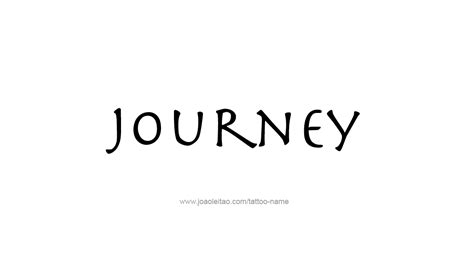 tattoo ideas journey journey name designs tattoos with names