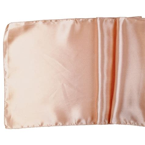 Satin Table Runner Taplak Satin Ungu satin table runner solid blush