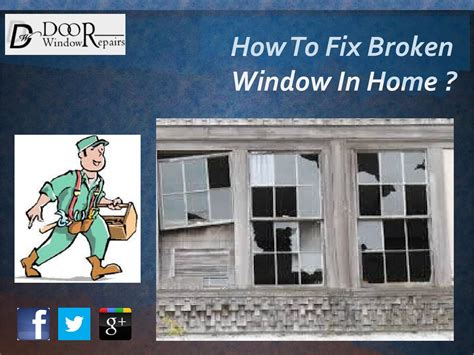 how to fix broken glass how to fix a broken window in a house by doorwindowrepair