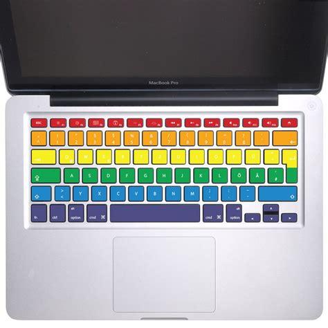 Macbook Keyboard Aufkleber by Rainbow Rows Keyboard Stickers For Macbook