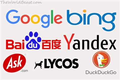 best web search top 10 best search engines in the world the world beast