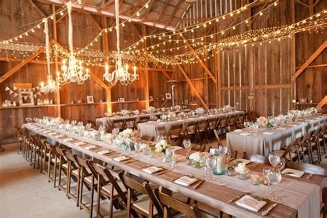 wedding reception lighting ideas 10 barn wedding decor ideas