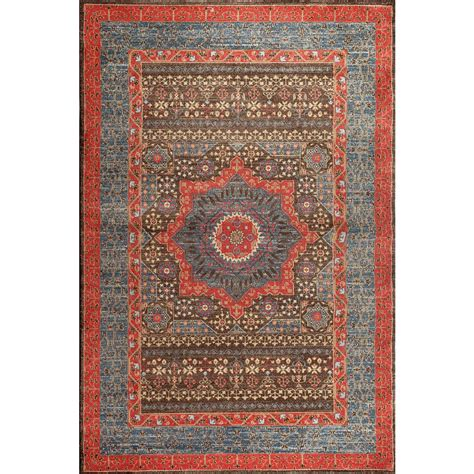 rug 4 x 7 safavieh mahal navy 4 ft x 5 ft 7 in area rug mah620c 4 the home depot
