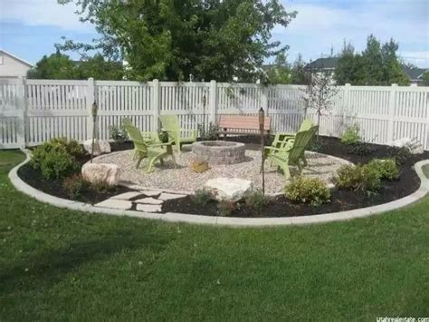 firepit landscaping 165 best images about corner lot landscaping ideas on