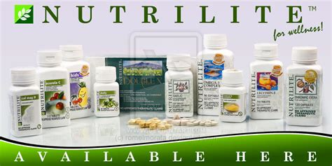 Suplemen Nutrilite amway products easymoneyamway