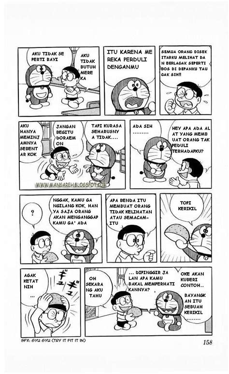 Baca Komik Bahasa Indonesia Doraemon Chapter 68 Topi