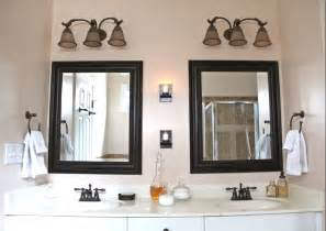 vanity mirrors for bathrooms bathroom vanity mirror makeover the soulful house