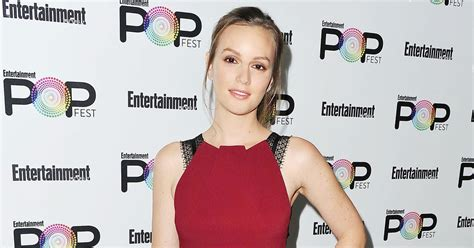 Jumpsuit Ester R leighton meester wears jumpsuit for carpet