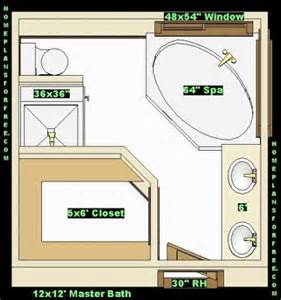 master bathroom and closet floor plans 12 x 12 master bath with walk in closet with shower no tub master baths 12x12 free ideas