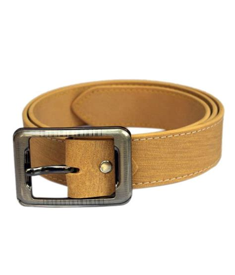 winsome deal yellow leather belt for buy at