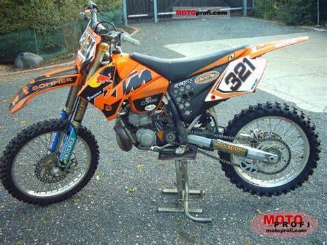 2004 Ktm Sx 250 2000 Ktm 250 Sx Moto Zombdrive