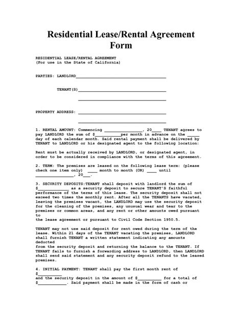 house lease agreement template free rental house lease agreement template free printable blank