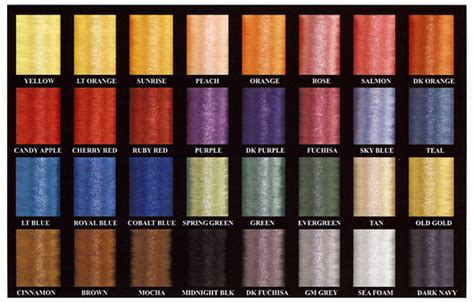 thread colors fishing rod wrapping threads
