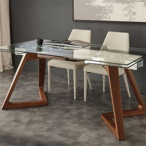 tavolo acciaio inox prezzi tavolo in vetro acciaio inox e noce gaud 236 la seggiola