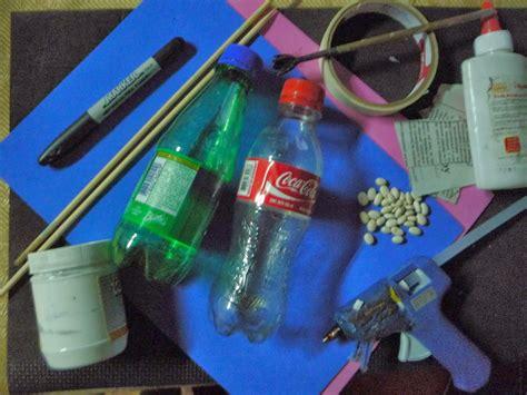pistola en material reciclable syl quezada arte y dise 241 o como hacer maracas con