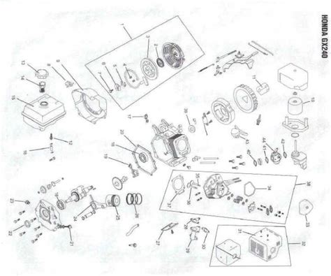 honda gx240 parts diagram honda gx240 engine parts in canada