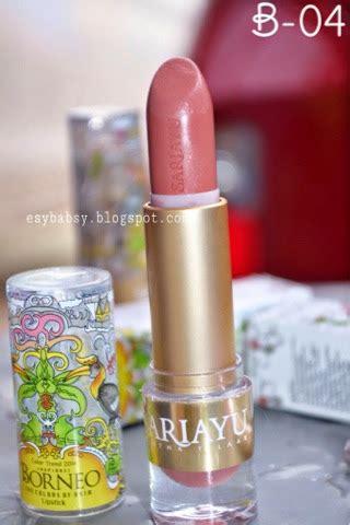 Lipstik Sariayu B 04 lunatic vixen review sariayu borneo lipstick b01 b04