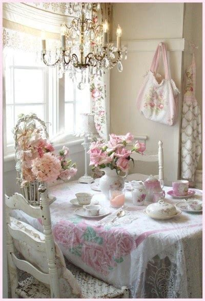 shabby chic tea room