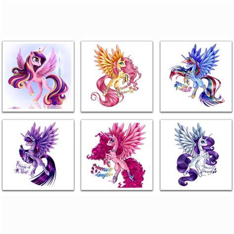 pony unicorn 5d diamond diy embroidery painting cross princess pony diamond painting cross stitch diamond