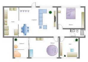 House Design Layout Templates by Home Floor Plan Software