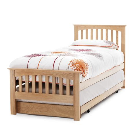 guest bed uk solid oak bed windsor oak single guest bed 4living