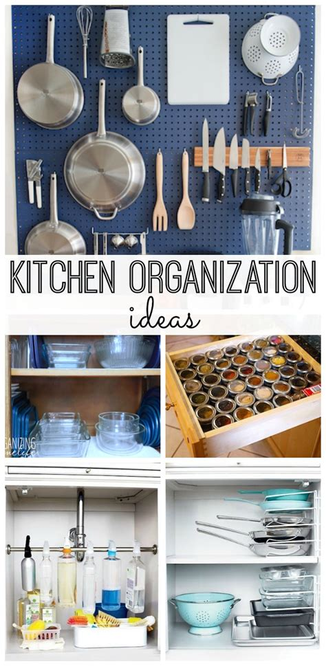Organize Kitchen Ideas Kitchen Organization Ideas My And