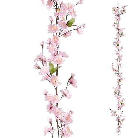 Pink Flower Wall Stickers deko deko kirschbl 252 ten ranke rosa amp dekoration bei