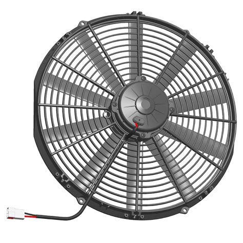 18 inch window fan va32 a101 62a spal universal 12v suction pull