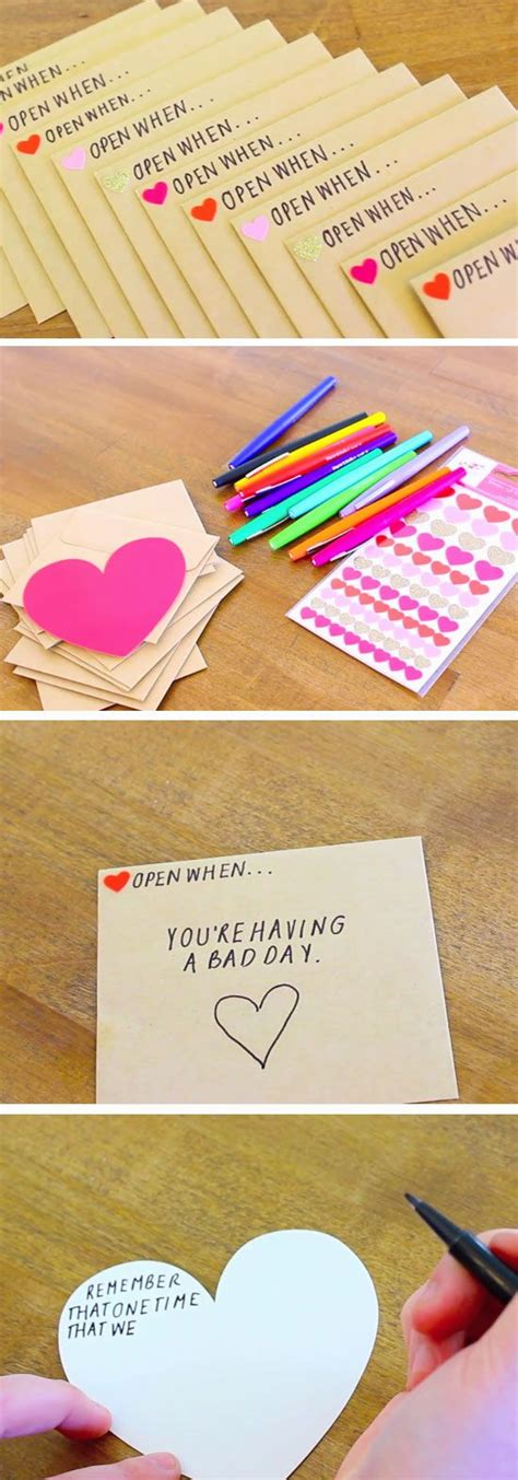 Handmade Crafts For Boyfriend - 32 diy valentines crafts for boyfriend diy birthday