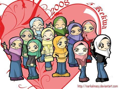 batu pink lebong chibi 241 best images about muslim on chibi