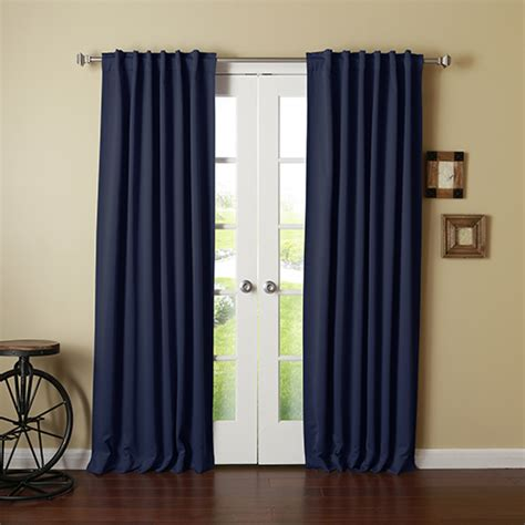 115 inch curtains 120 inch polyester window panel bellacor
