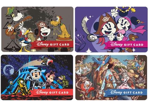 Disney Park Gift Cards - ring in the new year with new disney park themed disney gift cards disney parks blog