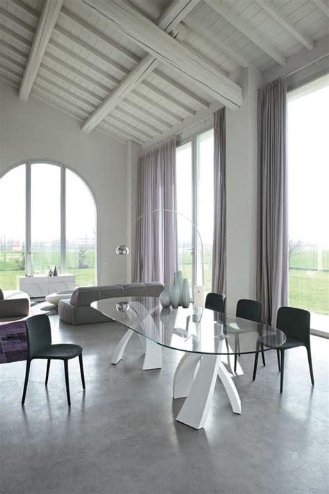 sale da pranzo usate great big eliseo tavolo ovale design piano in vetro per