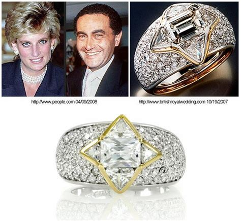 the ring diana picked out at repossi jewelry in monte