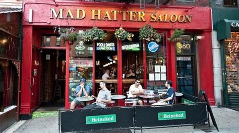 mad saloon mad hatter saloon garden 360 3rd ave new york ny 10016