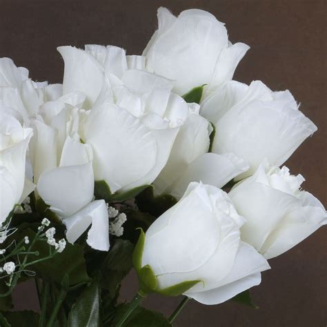 Wholesale Silk Wedding Flowers Supplies by 252 Silk Buds Roses Wedding Flowers Bouquets Wholesale
