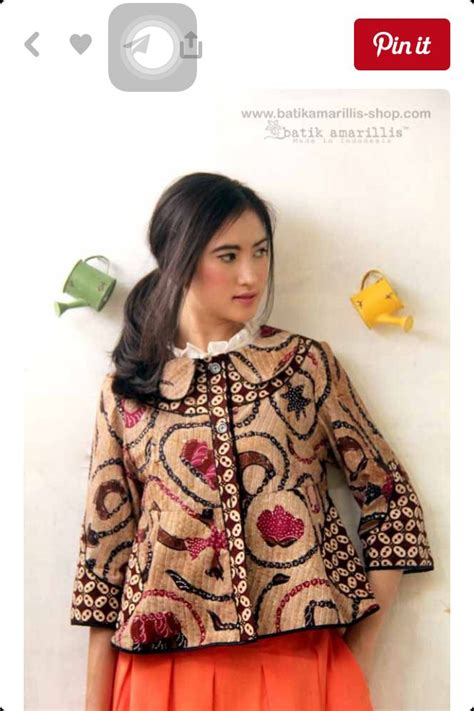 Trias Top Blouse Cantik 150 best images about batik cantik on sarongs shops and kebaya lace