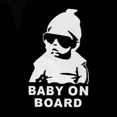 Auto Sticker Funny by Buy Baby On Board Auto Truck Stickers Window Vinyl Decal