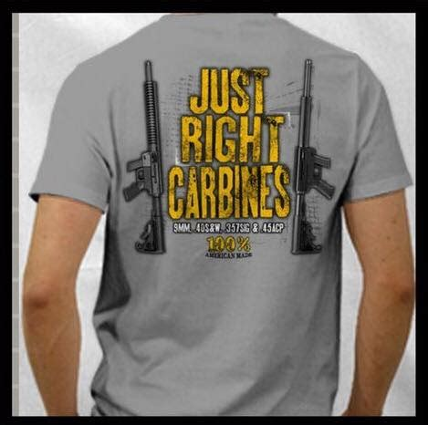 Justrigt T Shirt jrc sleeve t shirt just right carbines