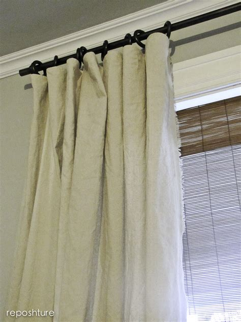 Hometalk No Sew Fringe Curtains And Diy Curtain Rods
