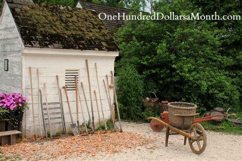 Home Depot Williamsburg Va by Gardens In Colonial Williamsburg Va