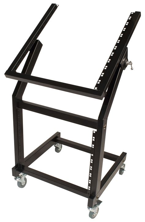 Rolling Equipment Rack by Ultimate Support Js Srr100 Rolling Rack Stand