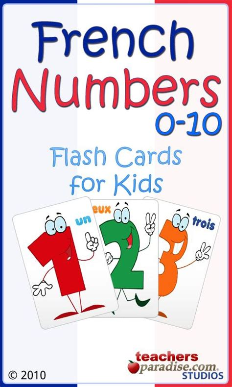 printable french numbers 1 10 free addition flashcards 1 10 preschool math lesson