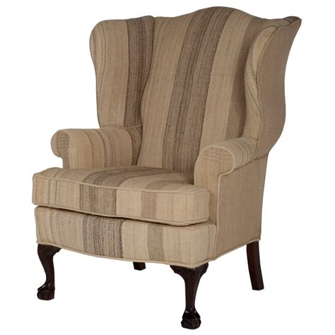 wingback armchair vintage wingback chair at 1stdibs