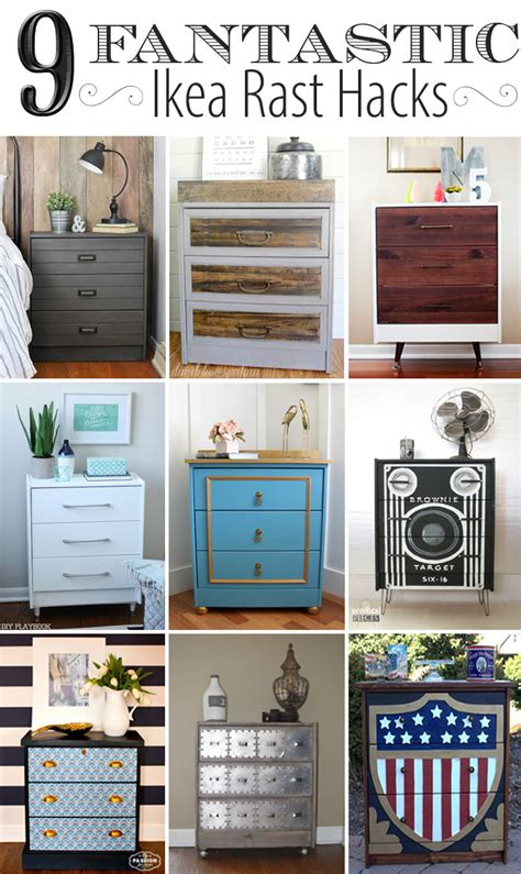 hack storage movie box camera dresser ikea rast hack prodigal pieces