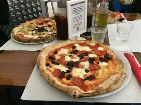 best pizza in florence italy calabrese picture of pizzeria o vesuvio florence