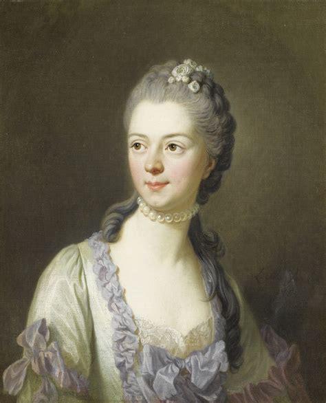Cing La Grange Du Pin by Portrait Of Princess Galitzine 1764 By Louis Michel
