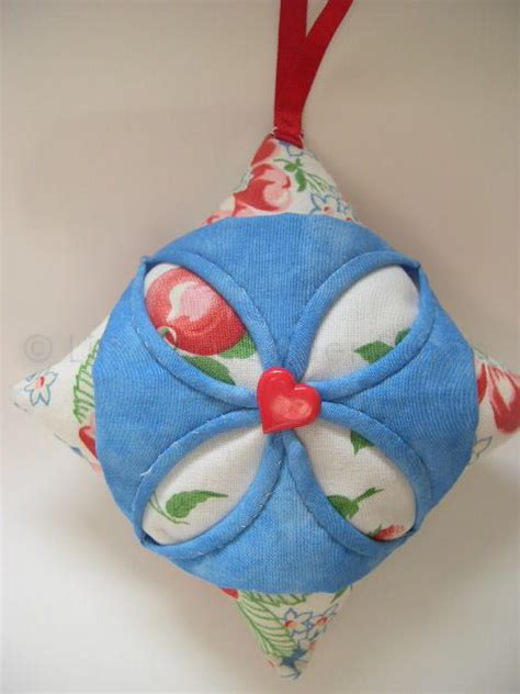 Cathedral Window Patchwork Pincushion - cathedral window patchwork pin cushion kit the