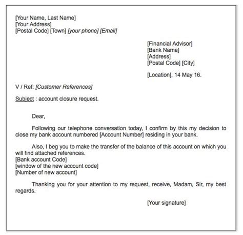 Balance Transfer Request Letter Account Closure Request Letter Http Exleresumecv Org Account Closure Request Letter